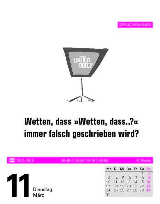 Dudenkalenderblatt 2014
